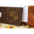 Hängende Herzen der Hochzeitseinladung Edima 100.508 Detail