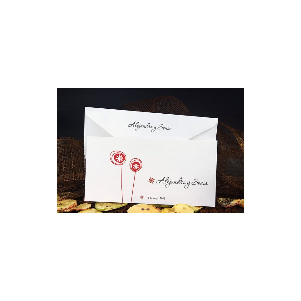 Invitación de boda lollypops Edima 100.509