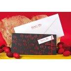 Invitación de boda hojas rojas, Edima 100.670