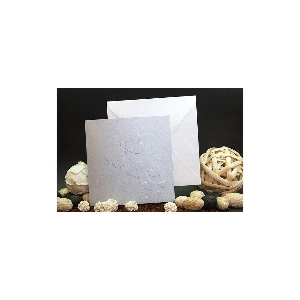 Invito a nozze farfalla in argento Edima 100.680