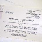 Hochzeitseinladung pflegt Mannequin Cardnovel 39205 Text
