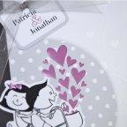 Invitación de boda novios bici Cardnovel 39210 detalle