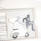 Wedding Invitation Vespa Boyfriends Cardnovel 39212 detail