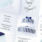 Confezione regalo per invito a nozze, dettaglio Cardnovel 39107