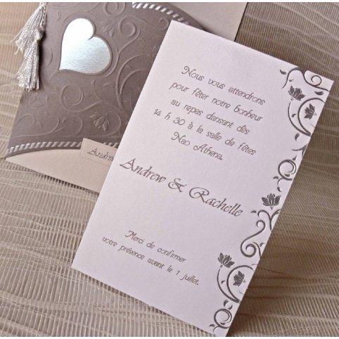 Tarjeta de agradecimiento medio corazón Cardnovel 43103