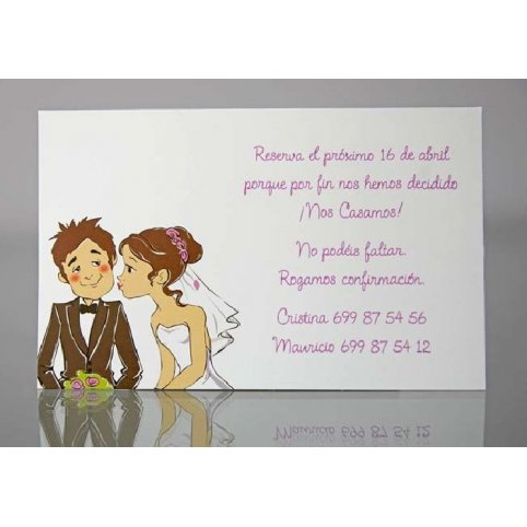 Tarjeta de agradecimiento romántica Cardnovel 34937