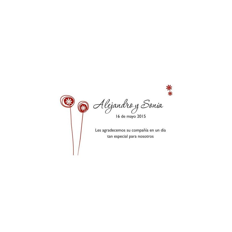 Tarjeta de agradecimiento lollypops Edima 150.509