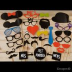 FANTASIA set foto parrucchino, 31 pezzi