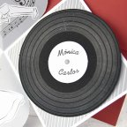 Invitación de boda disco vinilo, Cardnovel 39106 disco