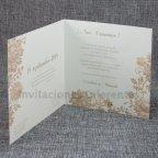 Invitación de boda madera Sí Belarto 726034 interior