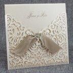 Invitación de boda troquel floral, Belarto 726047
