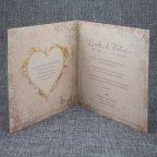 Wedding Invitation Photo Heart Belarto 726046 Text