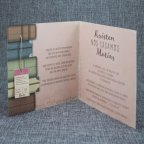 Wedding Invitation Suitcases Travel Belarto 726013 Open