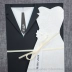 Hochzeitseinladung Bräutigam passt zu Belarto 726024 Detail