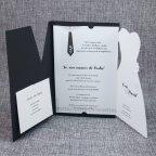 Invitación de boda trajes novios Belarto 726024 interior