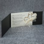 Goldene Herzen Hochzeitseinladung Belarto 726062 offen