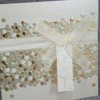 Invitación de boda confeti Belarto 726048 detalle