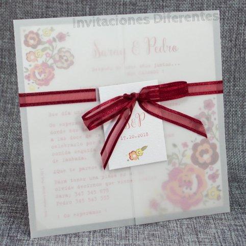 Vegetable Wedding Invitation Flowers Belarto 726039