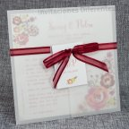 Invito matrimonio vegetale fiori Belarto 726039
