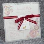 Invitación de boda vegetal flores, Belarto 726039