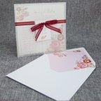 Invitación de boda vegetal flores Belarto 726039 con sobre