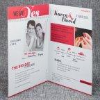 Yes magazine wedding invitation Belarto 726009 open