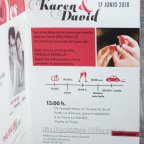 Invitación de boda revista Yes Belarto 726009 pala b