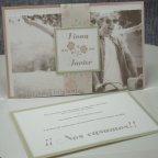 Flowery Heart Wedding Invitation Belarto 726023 Card 1