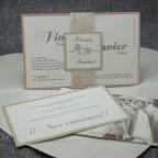 Flowery Heart Wedding Invitation Belarto 726023 Card 2