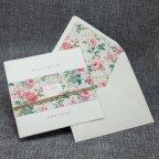 Hochzeitseinladung Metallherz Belarto 726040 mit Umschlag