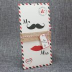 Invitación de boda mr & mrs, Belarto 726079