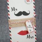 Dettaglio invito a nozze mr & mrs Belarto 726079