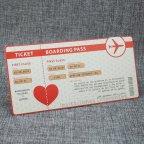 Invitación de boda pasaporte Belarto 726021 billete