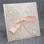 Invitación de boda flores troqueladas, Belarto 726072
