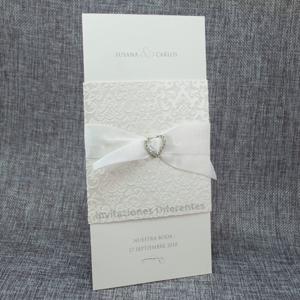 Cristalli cuore invito matrimonio Belarto 726066