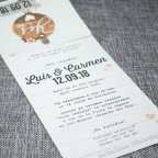Poster di inviti di nozze Belarto 726007 testo