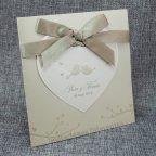 Invitación de boda pájaros enamorados Belarto 726031