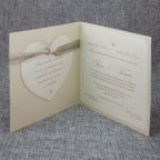 Wedding Invitation Birds in Love Belarto 726031 Open