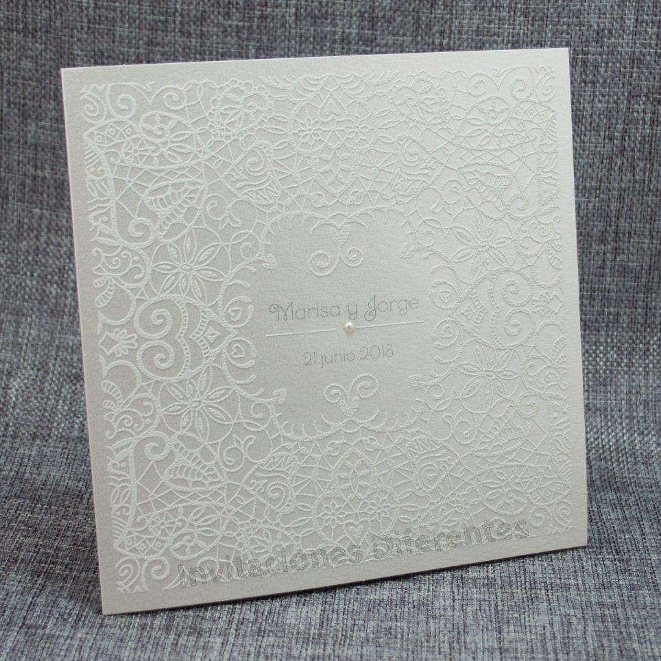 Belarto Relief Wandbild Hochzeitseinladung 726900