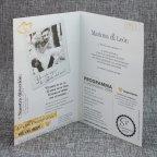 Invitación de boda revista love Belarto 726010 abierta