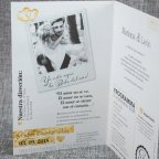 Invitación de boda revista love Belarto 726010 detalle