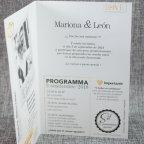 Invitación de boda revista love Belarto 726010 texto