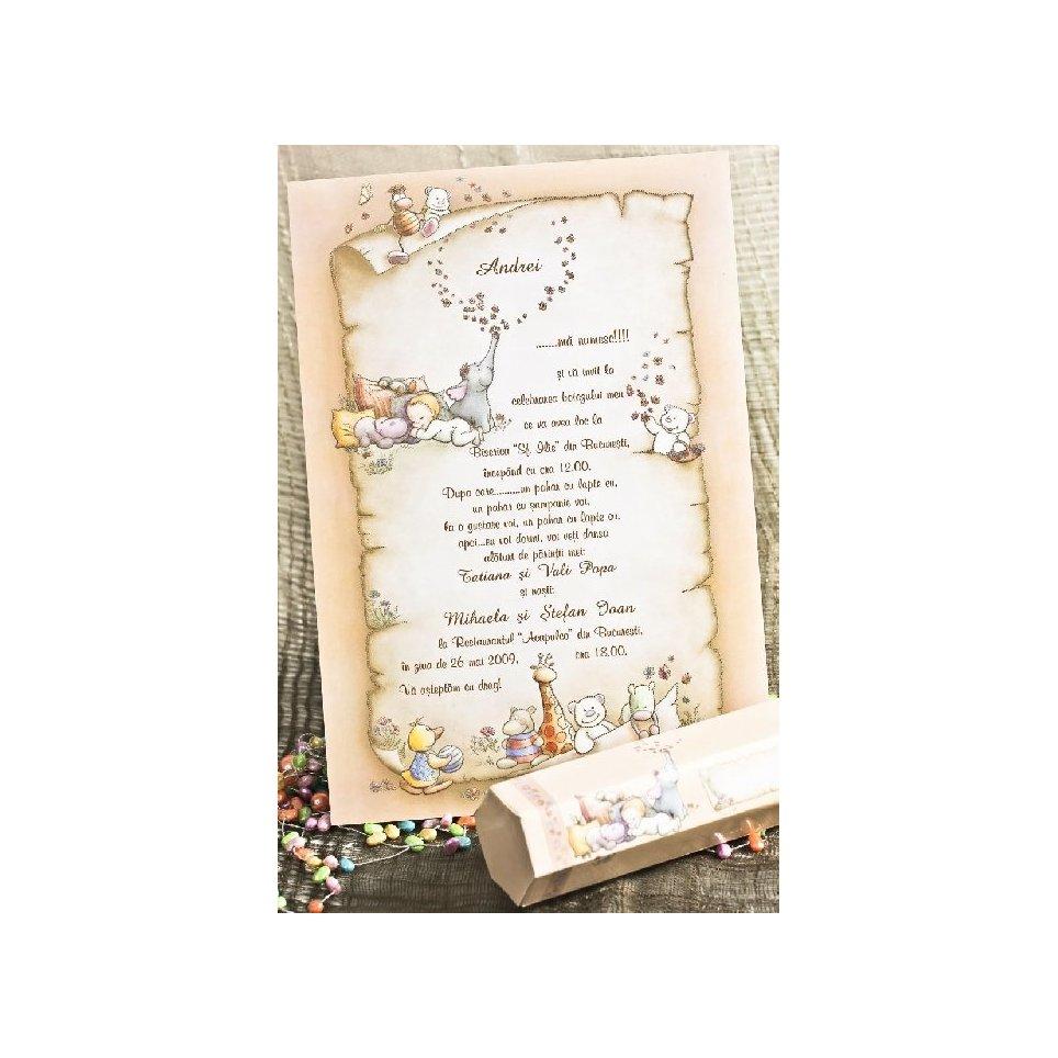 Pergamena promemoria battesimo Cardnovel 15103