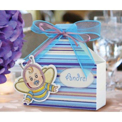 Geschenkbox für Astronautentaufe Cardnovel 4001
