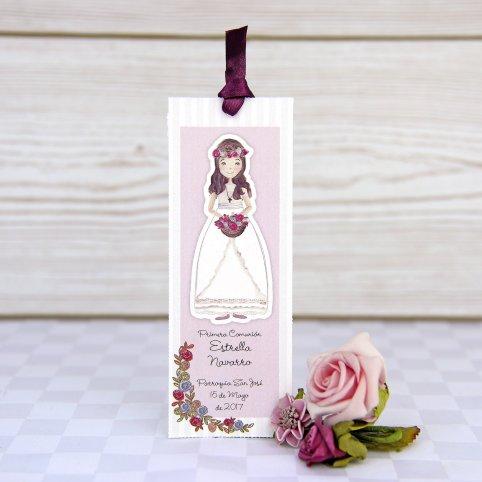 Segnalibro comunione principessa, Cardnovel 208023