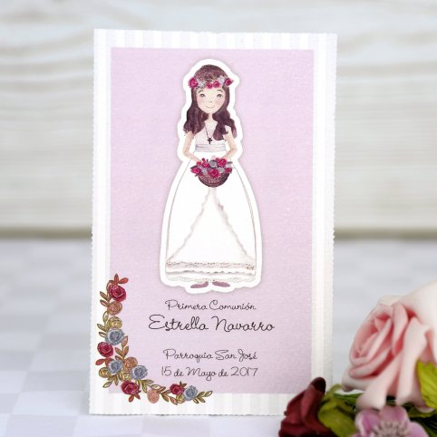 Princess Communion Reminder, Cardnovel 208024