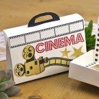 Invitación de boda maleta Cinema Cardnovel 39600 caja