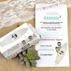 Invitación de boda furgoneta peace&love Cardnovel 39603