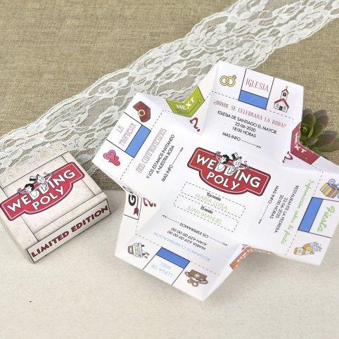 Wedding Poly Wedding Invitation Cardnovel 39604