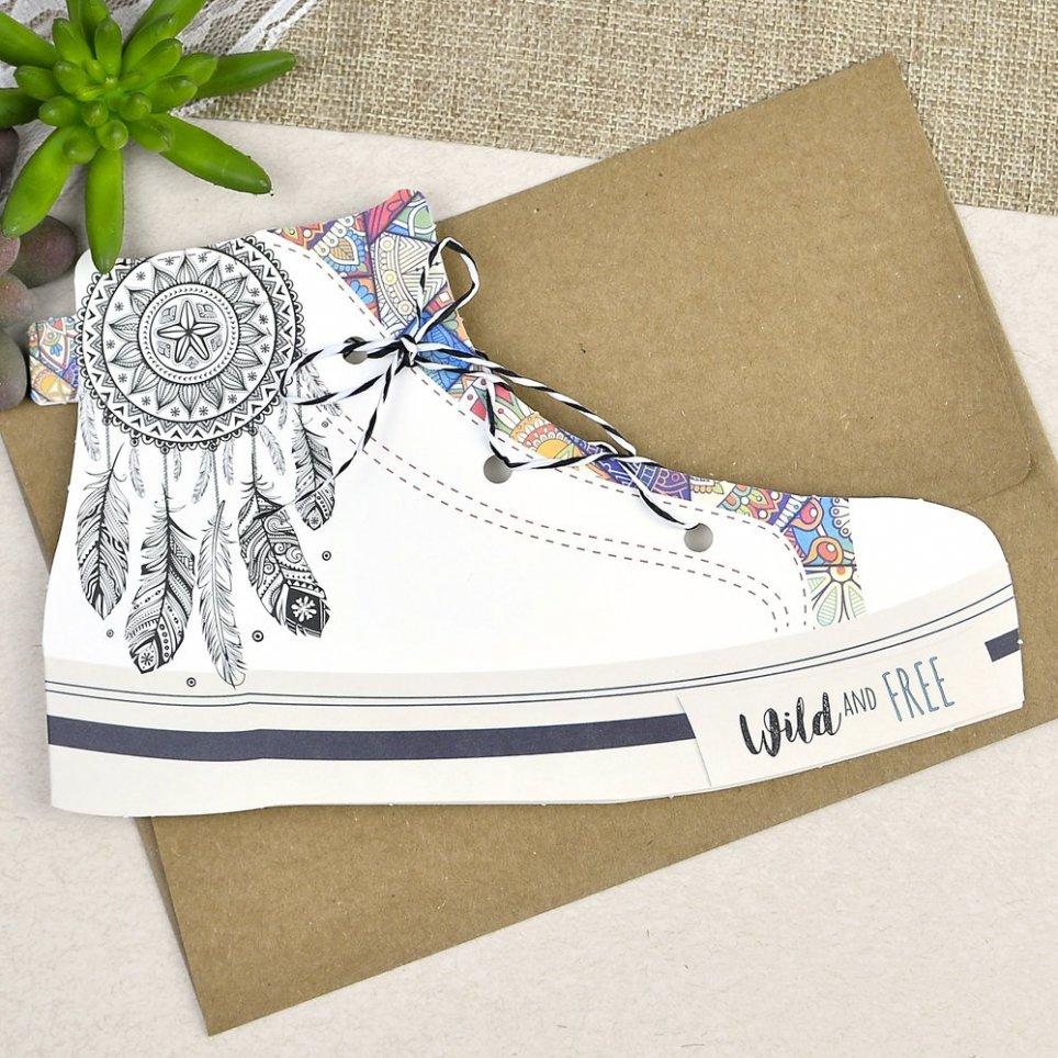 Hochzeitseinladung Cardnovel Sneaker 39605